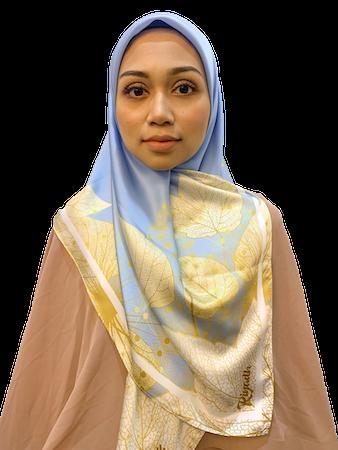 Hessa Royal Blue - Riyadh Heejab